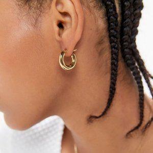 Ellie Vail Chunky Gold hoop earrings